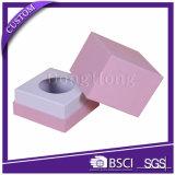 Caixa de empacotamento de papel rígida feito-à-medida do cuidado de pele dos cosméticos