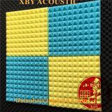 Новый глава 12ПК черный и красный комплект полушария тип поверхности панели акустического поглощения звука шумоизоляция из пеноматериала