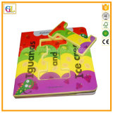 子供のためのペーパーBoardbookのハードカバー本の印刷