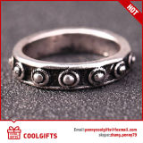 I monili su ordinazione 6PCS /Set hanno placcato l'insieme blu dell'anello delle donne della barretta della gemma