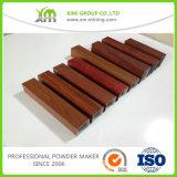 製造業者の木製の穀物ポリエステルアルミニウムプロフィールの粉のコーティング