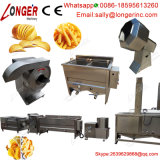 Commerciële Industriële Halfautomatische Chips die Machine maken