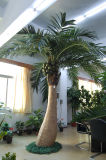 庭のホーム装飾の卸売のプラスチック屋外の人工的なココヤシの木の木