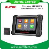 Управление Autel Maxicom Mk808ts Epb/ABS/SRS/Climate диагностического инструмента единственного вещества первоначально/Sas/TPMS Maxicheck ПРОФЕССИОНАЛЬНОЕ Maxicom Mk808ts