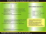 Longitud de onda de cristal de Lesn 430nm-1000nm del colimador asférico de Danpon