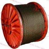 Cuerdas de Alambre de Acero No Galvanizado - 6X36ws