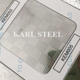 304 Edelstahl-Kem012 geprägtes Blatt für Dekoration-Materialien