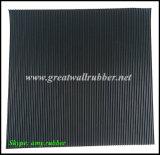 Точн-Ribbed резиновый лист, Anti-Slip резиновый циновка, резиновый настил, половой коврик