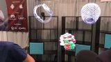 Hoher ganz eigenhändig geschrieber Projektor der Auflösung Hypervsn Hologramm-Bildschirmanzeige-3D