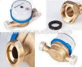 Watermeter de jato único para medidor de água fria / quente