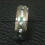A alta qualidade 30PCS da jóia de Shineme apedreja o anel Titanium (TR1920)