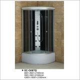 Cabina de ducha con el estante Seis jets ducha de la tapa ducha de mano