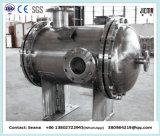オイル冷却のシェルおよび管の熱交換器(U字型チューブの束)
