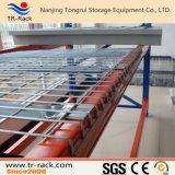 Plataforma soldada galvanizada do engranzamento de fio de aço para o racking do armazenamento