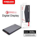 Le modèle 368s choisissent des entrées doubles d'USB pour la foudre et la vente chaude ultra-légère de qualité de côté de pouvoir de Micro10000mAh et ultra-mince Micro-Normale