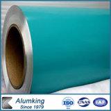 Il colore impresso ha ricoperto la bobina di alluminio (reticoli Checkered)