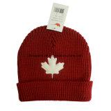 Toque/sciarpa/guanto dell'adulto 3-Piece Canada di colore rosso impostato (CPHC-7012X)
