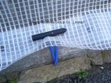 Échafaudage de Tarps de gaze de bâche de protection de gaze couvrant Rolls