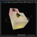 Mobilier à LED rotatif en forme de cube pour intérieur ou extérieur