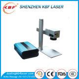 Mini macchina portatile promozionale della marcatura del laser della fibra di prezzi 20W