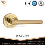 Befestigungsteil-Zink-Hebel-Tür-Griff, Form-Art mit Schließfach (Z6024-ZR05)