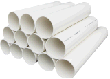 El abastecimiento de agua de PVC-U Tubo de PVC de diámetro grande