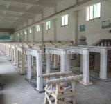 Mensola del camino di marmo bianca della pietra del camino della scultura