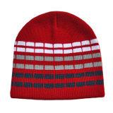 しまのある昇進の冬の帽子(JRK007)