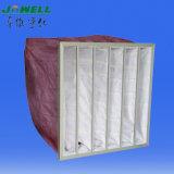 Qualitäts-Beutel-Luftfilter/Baumwollmittlerer Material-und Beutelfilter-Aufbau-Filter