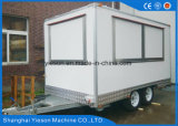 Edelstahl-mobiler Nahrungsmittel-LKW Van
