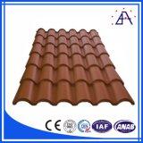 Panneaux en aluminium ondulés de toit