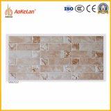 Azulejo de cerámica esmaltado rústico de la pared para al aire libre