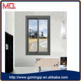 Ventana de desplazamiento de aluminio de la ventana del redondo superior