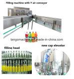 Bebida de frutas vegetais completa de máquinas de processamento de suco de linha de produção de garrafa pet