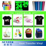 Comercio al por mayor de PVC de alta temperatura PU T-Shirt de vinilo de transferencia de calor