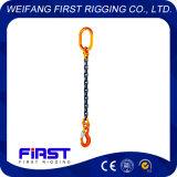 Acciaio legato saldato G80 di un'imbracatura di sollevamento Chain del piedino