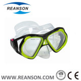 Reanson 상표 넓은 전망 실리콘 잠수 가면