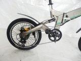 E-Bicicleta de dobramento elétrica da bicicleta da montanha de 20 polegadas para o adulto