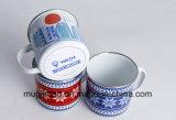Esmalte cerveja caneca caneca caneca de leite Dom Caneca esmalte logotipo OEM de Fábrica 8 oz 10oz 12oz