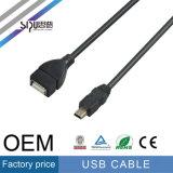 Кабель данным по разъема USB оптовой продажи кабеля USB штепсельной вилки выдвижения Sipu