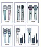 Microphone de condensateur de câble tenu dans la main portatif intelligent des prix satisfaisants mini pour KTV le meilleur marché