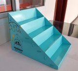 Коробка индикации Corrugated каннелюры воска складывая