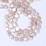 硬貨は淡水の真珠のビードを保証した自然な100%を培養した