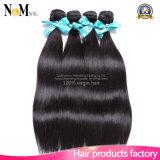Do derramamento e do emaranhado extensões malaias retas de seda do cabelo livre (QB-MVRH-ST)