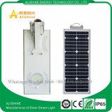 15W LED intégrée Rue lumière solaire pour jardin Système d'éclairage