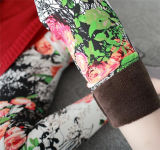최신 디자인 겨울 크기에 의하여 인쇄되는 각반 (20161) 플러스 높은 허리 외부 착용