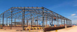 Surtidores de goma prefabricados del edificio del taller de la fabricación de la estructura de acero de China