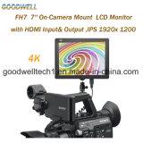 eingegebenes 1920X1200 HDMI u. gab 7 Zoll LCD-Monitor aus