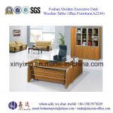 金属の足(A222#)を搭載する中国のオフィス用家具のオフィス表