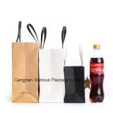 Bolso de compras de papel modificado para requisitos particulares profesional, bolso de empaquetado